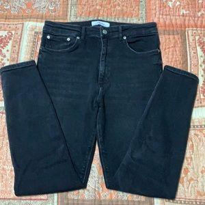 Zara Woman Black Stretch Jeans